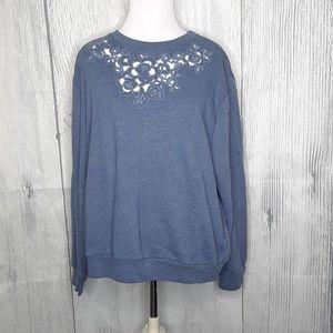 Abercrombie & Fitch Crew Neck Sweatshirt, Size L